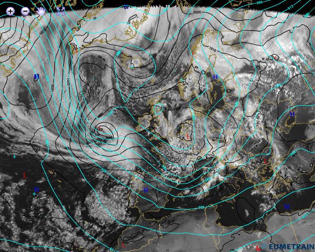 ciclogenesisexplosiva1 ART 28: EL TIEMPO EN ESPAÑA EL FRENTE ATLÁNTICO