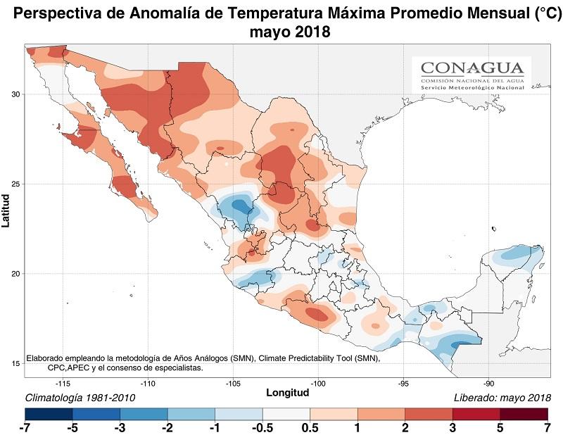 anomaliaTmexicomayo18 ART 77: EL TIEMPO EN MÉXICO: TEMPORADA DE LLUVIAS 2018