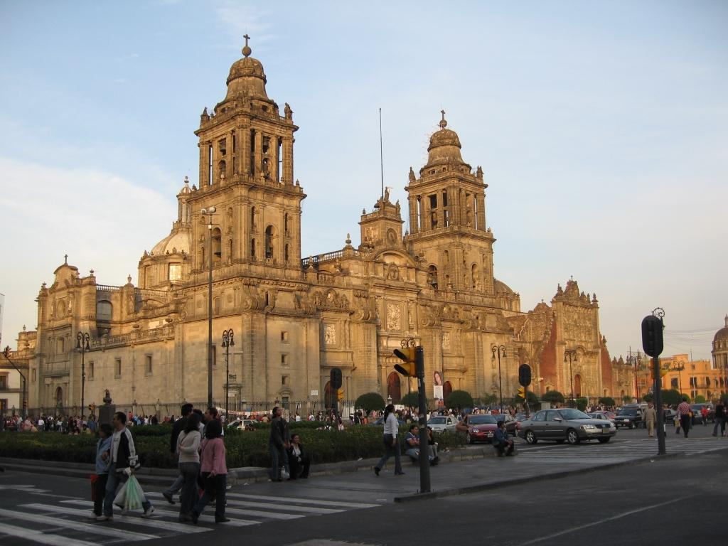 mexicocatedralmetropolitana ART 109: VIAJANDO: EL TIEMPO EN TU DESTINO CIUDAD DE MÉXICO