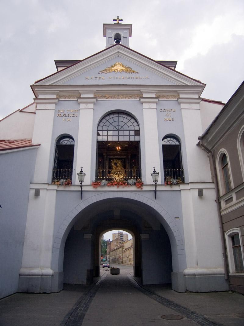 lituaniapuertaaurora ART 180: VIAJANDO: EL TIEMPO EN TU DESTINO LITUANIA