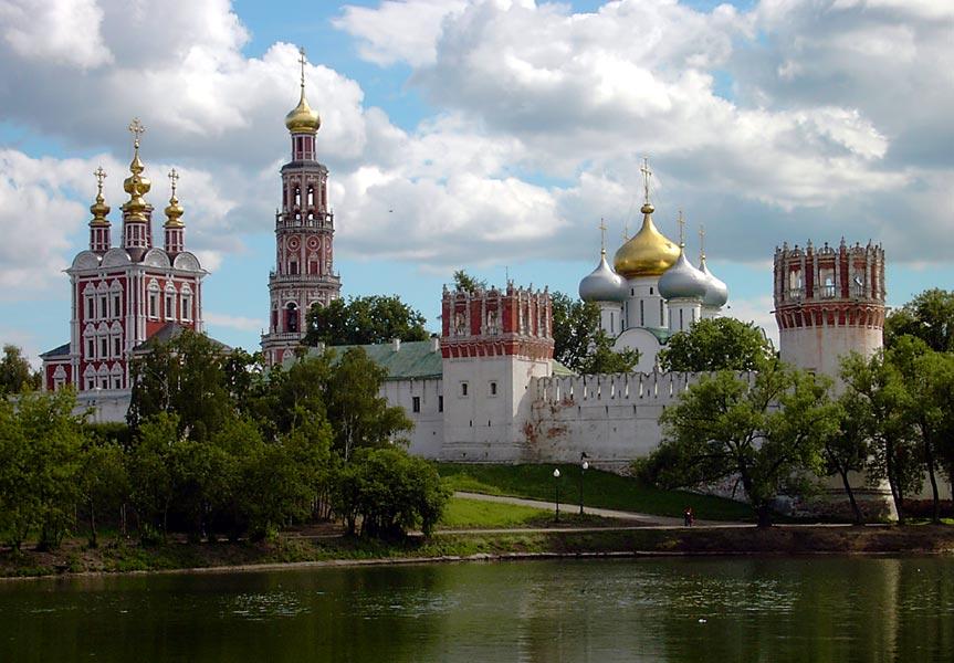 moscuconventonovodevichi ART 197: VIAJANDO: EL TIEMPO EN TU DESTINO MOSCÚ