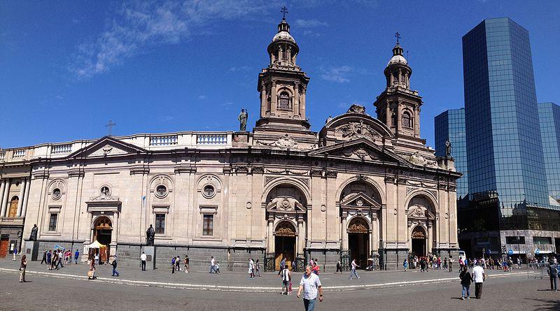 santiagodechilecatedralmetropolitana ART 194: VIAJANDO: EL TIEMPO EN TU DESTINO SANTIAGO DE CHILE