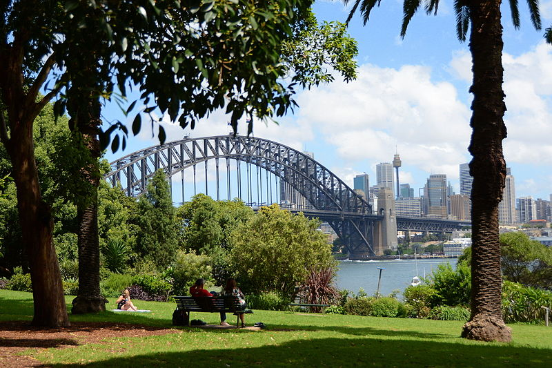 australia sidney lavender bay park ART 218: VIAJANDO: EL TIEMPO EN TU DESTINO SÍDNEY/AUSTRALIA