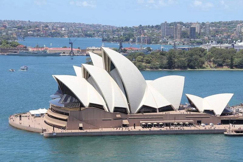 australia sidney opera house logo ART 218: VIAJANDO: EL TIEMPO EN TU DESTINO SÍDNEY/AUSTRALIA