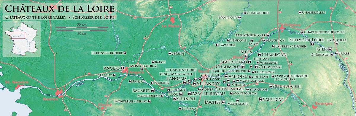 valle del loira castillos ART 222: VIAJANDO: EL TIEMPO EN TU DESTINO LOS CASTILLOS DEL VALLE DEL LOIRA