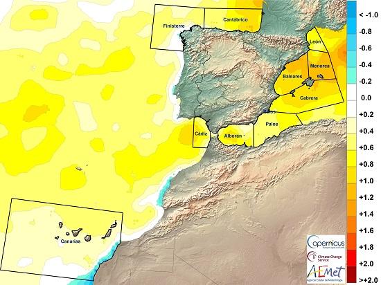 252 el informe sobre el estado del clima en 2020 en espana muestra que fue el ano mas calido y se dispararon los records de calor agencia estatal de meteorologa El informe sobre el estado del clima en 2020 en España muestra que fue el año más cálido y se dispararon los récords de calor   Agencia Estatal de Meteorologa