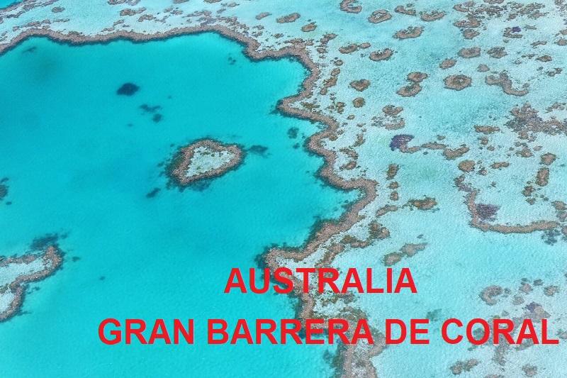 australia este gran barrera de coral logo ART 226: VIAJANDO: EL TIEMPO EN TU DESTINO AUSTRALIA/ESTE