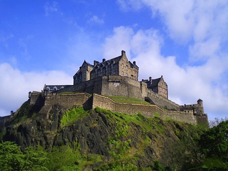 escocia castillo edimburgo ART 229: VIAJANDO: EL TIEMPO EN TU DESTINO CASTILLOS DE ESCOCIA