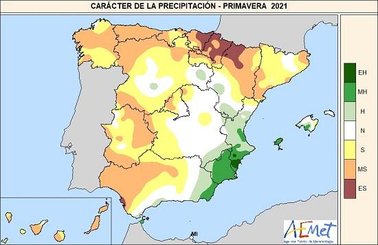 espana vive la primavera mas seca de los ultimos quince anos agencia estatal de meteorologa España vive la primavera más seca de los últimos quince años   Agencia Estatal de Meteorologa