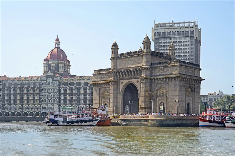 india mumbai puerta de la india ART 232: VIAJANDO: EL TIEMPO EN TU DESTINO INDIA