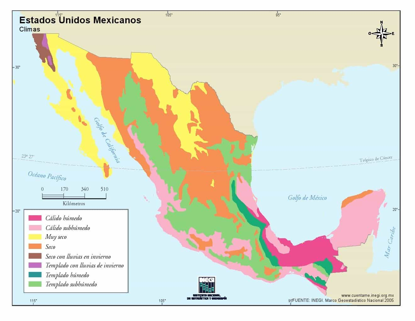 mexicoclimas ART 239: DIVERSIDAD DEL CLIMA EN MÉXICO